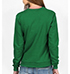 Womens Long Sleeved Tee Shirt – Emerald Green / Tiger Logo