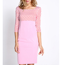 Pink White Polka Dot Dress – Find Your Sweet Spot