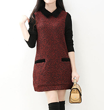 Sweater Dress – Sweet Sixties Schoolgirl Chic