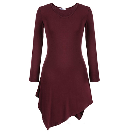 The Ultimate Dressy Dress – Dark Red