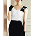 Vintage Design Pencil Skirt Dress