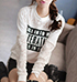 Womens Solid Color Sweatshirt – Make A Statement