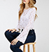 Womens Lace Top – White / Bell Sleeves